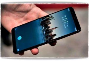 Экран блокировки на телефоне Samsung
