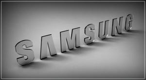 Логотип SAMSUNG стеклянный