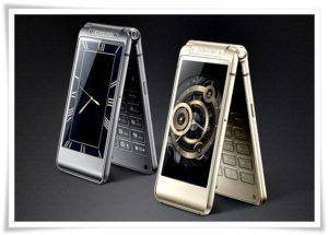 Смартфоны Samsung с часами на экране