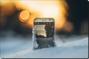 Фото 2 Защитить смартфон от мороза