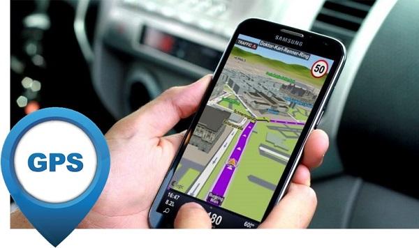 Смартфон Samsung c GPS