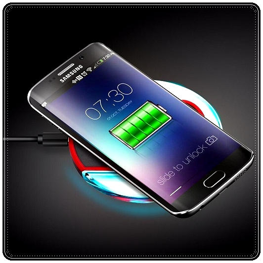 Беспроводная зарядка смартфона Samsung