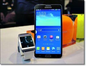 Часы и Смартфон Samsung