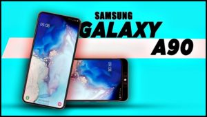 Смартфон Galaxy A90 с Экраном блокировки