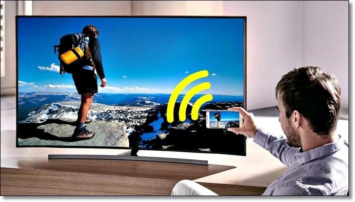 Управление TV через смартфон Samsung