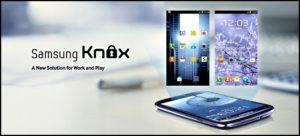 Логотип Samsung Knox
