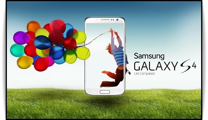 Реклама смартфона Samsung Galaxy S4