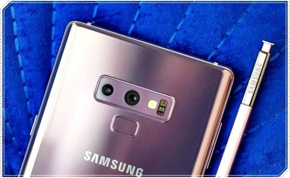Смартфон Samsung Note 9
