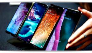 Линейка смартфонов Samsung