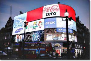 Световая Реклама на зданиях