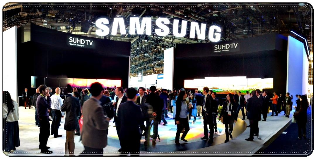 На выставке Samsung