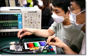 Производство дисплеев Samsung