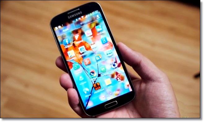 самый продаваемый смартфон Samsung Galaxy S4