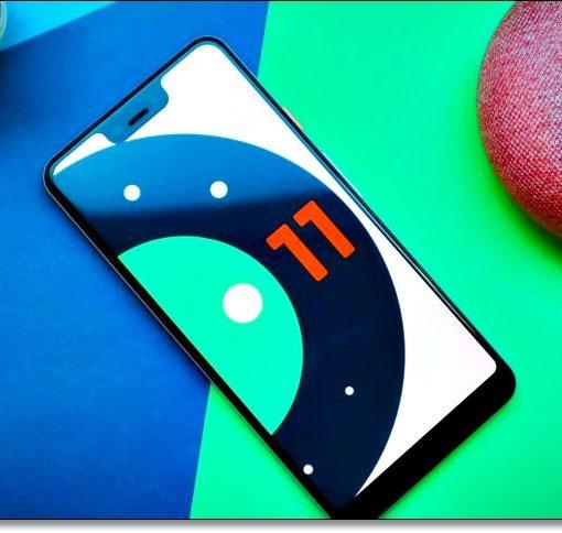 Смартфон с Android 11