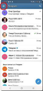 2 Размер Букв в чатах Telegram