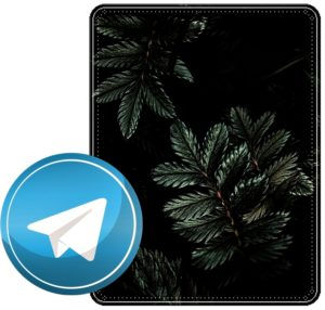 Чёрная тема в Telegram