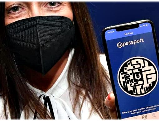 Сторонники Ковид-паспортов