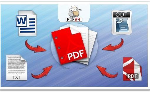 В файлы PDF